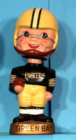 Vintage Green Bay Packers Gold Base Bobblehead