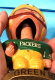 Green Bay Packers Real Face Bobblehead