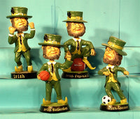 Fighting Irish 4 Bobblehead Set