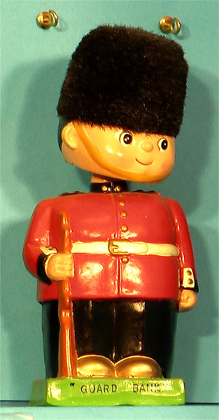 Vintage Brittish  Guard bobblehead bank