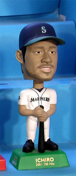 Ichiro Seattle Mariners MLB Upper Deck baseball bobblehead 200 hits