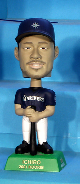 Ichiro Seattle Mariners MLB Upper Deck baseball bobblehead rookie