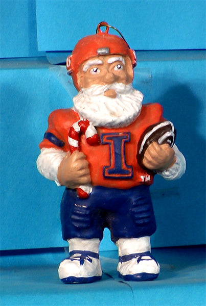 Illinois Illini '99 NCAA Mascot Christmas Ornament