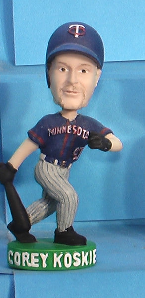 Corey Koskie Twins mini bobblehead
