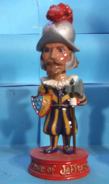 Mardi Gras Krewe of Jefferson bobblehead