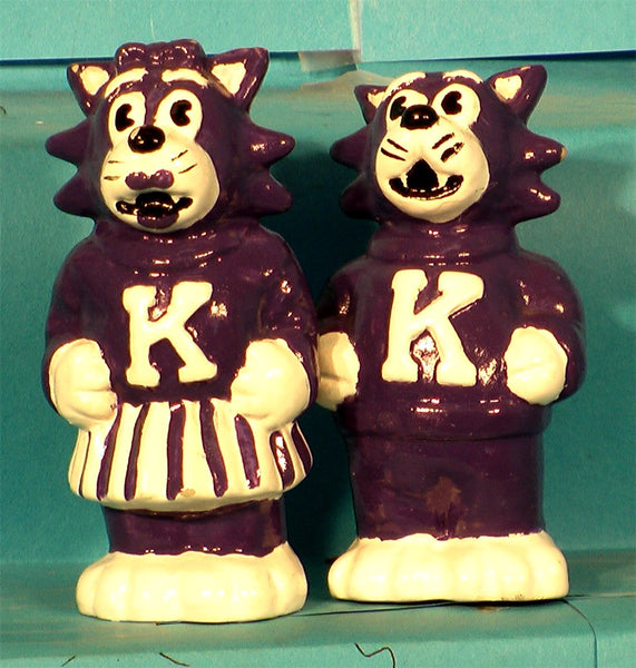 Kansas State Wildcats Mascot Salt & Pepper Shakers