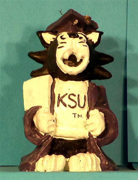 Case of 24 Kansas State Wildcats Graduate Figurine