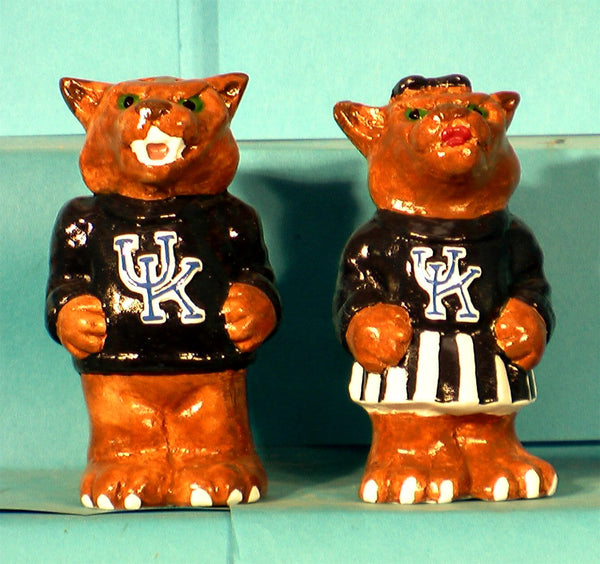 Kentucky Wildcats Mascot Salt & Pepper Shakers