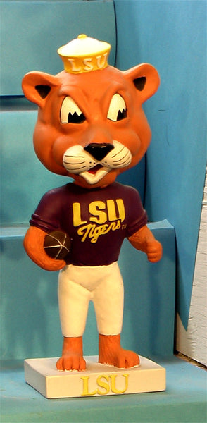 LSU Tigers Mascot Mike 01 bobblehead