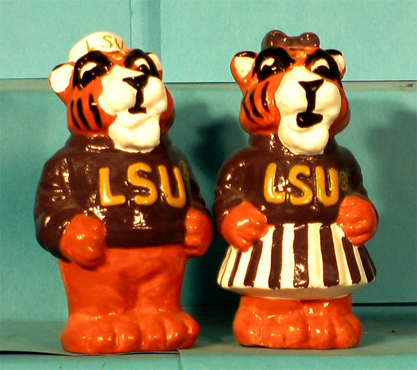LSU Tigers Mascot Salt & Pepper Shakers
