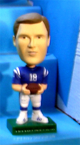 Peyton Manning Indianapolis Colts Upper Deck NFL   bobblehead