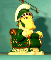 Michigan State Spartans '01  NCAA Mascot Christmas Ornament