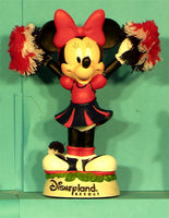 Minnie Mouse Disney Cheerleader bobhead