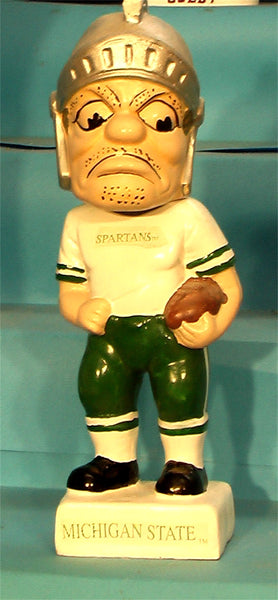 Michigan State Spartans  Mascot 1990's bobblehead
