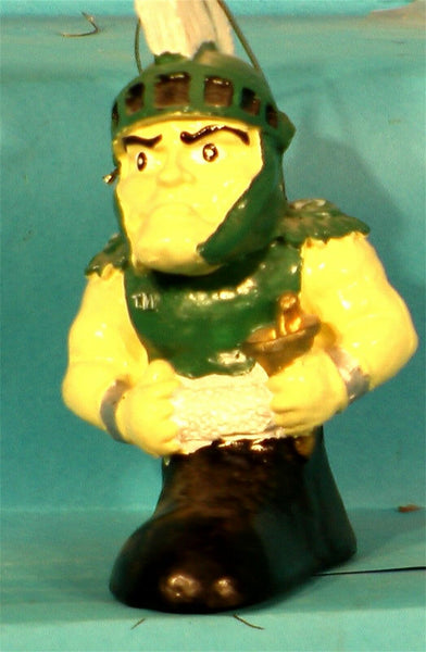 Michigan State Spartans '00  NCAA Mascot Christmas Ornament