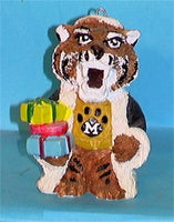 Missouri Tigers '99 NCAA Mascot Christmas Ornament