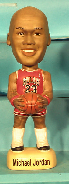 Michael Jordan Chicago Bulls Red Uniform White Shoes