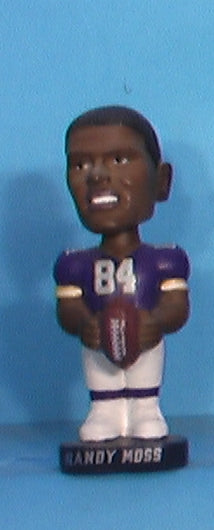 Randy Moss Vikings mini bobblehead