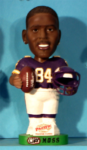 Randy Moss Minnesota Vikings NFL Bobblehead Pacific