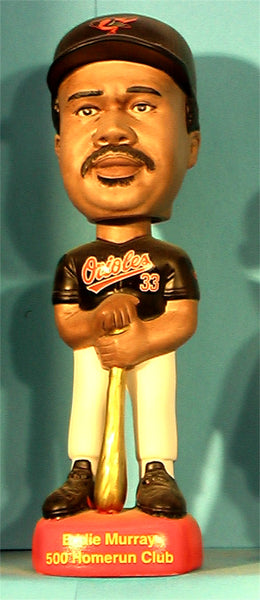 Eddie Murray Baltimore Orioles 500 Homeruns Sams Bobblehead