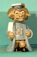 North Carolina Tar Heels Mascot Graduate Figurine