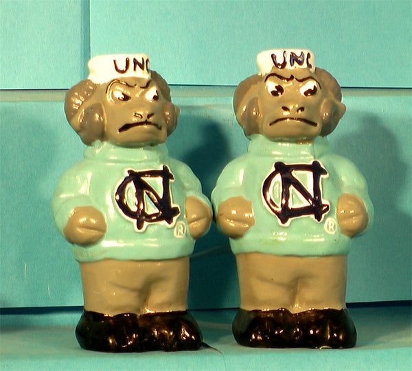 North Carolina Tar Heels Mascot Salt & Pepper Shakers