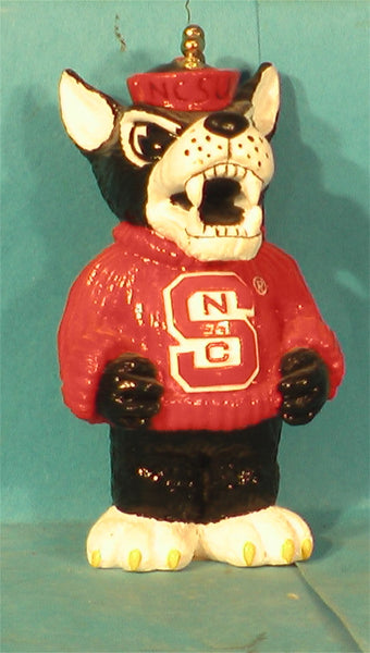 North Carolina State Wolfpack Mascot Chain Pull