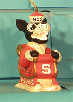 North Carolina State Wolfpack '01 NCAA Mascot Christmas Ornament