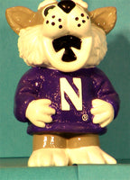 Northwestern Wildcats Mascot Chain Pull