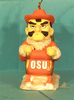 Oklahoma State Cowboys '01 NCAA Mascot Christmas Ornament