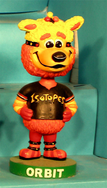 Albuquerque Isotopes mascot  Orbit bobblehead