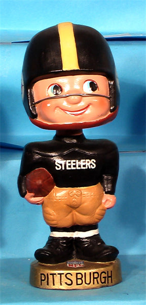 Vintage Pittsburgh Steelers Toes Up Bobblehead