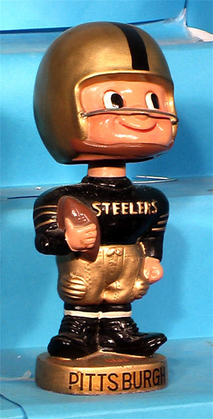 Pittsburgh Steelers Vintage Toes Up Bobblehead