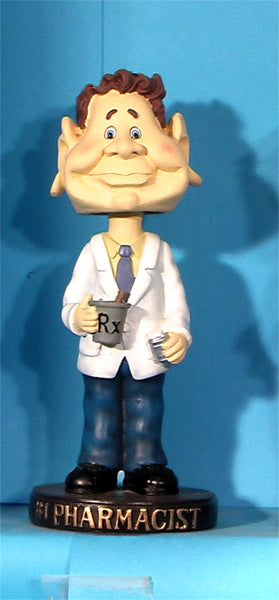 #1 Pharmacist bobblehead