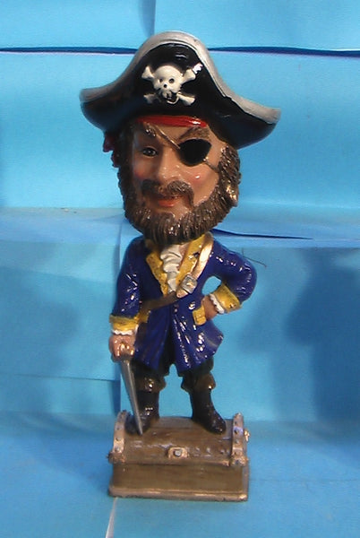 Mardi Gras Pirate bobblehead