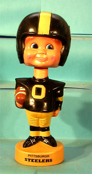 Pittsburgh Steelers  70's Plastic NFL football bobblehead