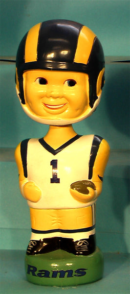 Los Angeles Rams   1  Football Bobblehead Twins Enterprise Inc