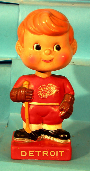 Detroit Redwings vintage bobblehead