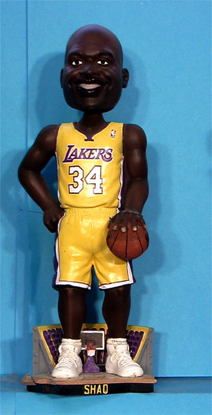 Shaquille Oneal Shaq Los Angeles Lakers   NBA Basketball bobblehead