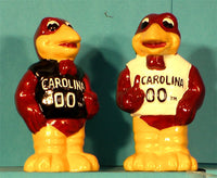 South Carolina Gamecocks Mascot Salt & Pepper Shakers