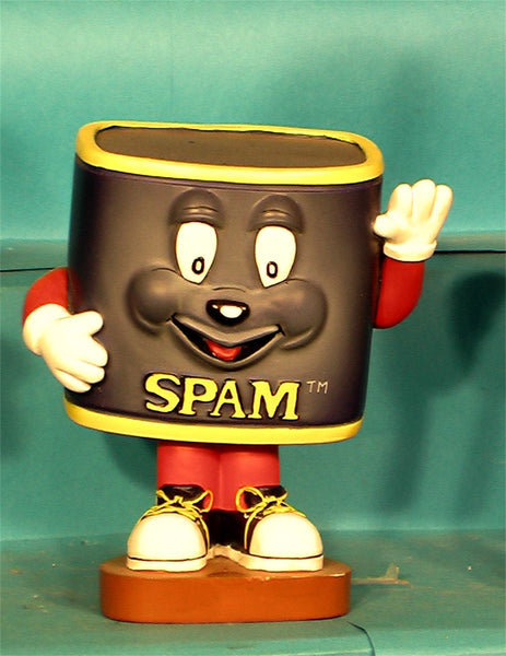 Spam Can Bobblehead