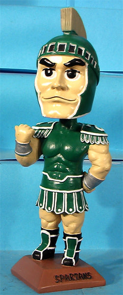 Spartan mascot case of 24 bobbleheads