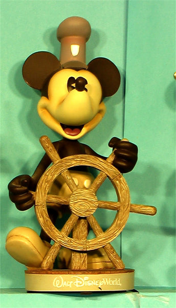 Mickey Mouse Disney Steamboat Willie bobhead c