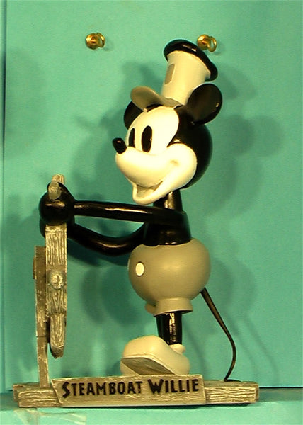Mickey Mouse Disney Steamboat Willie bobhead