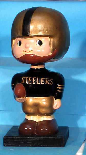 Vintage Pittsburgh Steelers Square Base Bobblehead