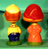 Vintage Kissing Kids 2 Bobblehead
