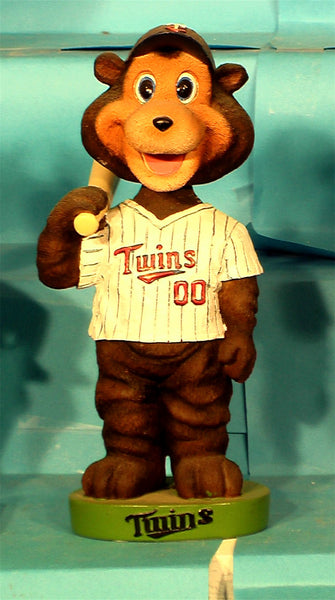 Minnesota Twins Mascot TC Bear Bobblehead
