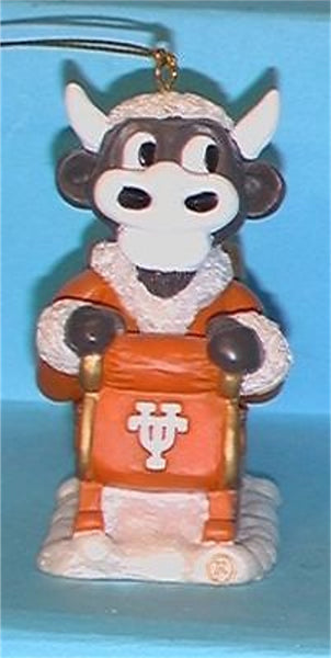 Texas Longhorns '01 NCAA Mascot Christmas Ornament