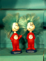 Thing one & two wacky wobblers bobblehead