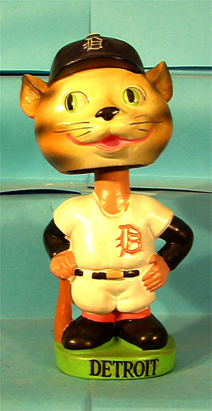 Vintage Detroit Tigers green base Mascot bobblehead